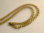 VINTAGE 9CT SOLID GOLD CHAIN / NECKLACE c. 1940