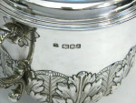 ANTIQUE SILVER CUP & COVER / TROPHY LONDON 1916