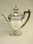 ANTIQUE GEO. III GEORGIAN SILVER COFFEE POT LONDON 1794