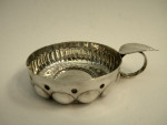 ANTIQUE FRENCH SILVER WINE TASTER c. 1910