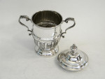 SOLID SILVER TROPHY / CUP / PRIZE SHEFFIELD 1937 ENGRAVABLE SPORTS PRESENTATION