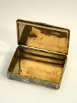 ANTIQUE RUSSIAN SILVER GILT & NIELLO ENAMEL BOX MOSCOW 1826