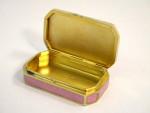 AUSTRIAN SILVER, ENAMEL & PEARL BOX c. 1920