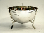 RARE ANTIQUE SOLID SILVER GOLF TROPHY / BOWL / PRICE LONDON 1904