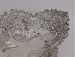 SET OF 3 ANTIQUE VICTORIAN SILVER BASKETS / DISHES 1895