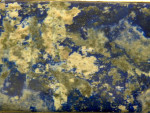 CONTINENTAL SILVER & LAPIS STONE BOX IMPORT MARK 1938