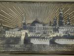 ANTIQUE RUSSIAN SILVER & NIELLO ENAMEL BOX MOSCOW 1882