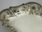 SOLID SILVER VICTORIAN DISH LONDON 1884.