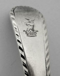 A SET OF 6 GEO III SILVER 3 PRONG DESERT FORKS & SPOONS LONDON 1768