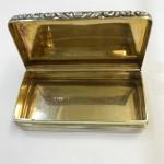 A WILLIAM IV CASTLE TOP SNUFF BOX 1834 (Abbotsford Castle)