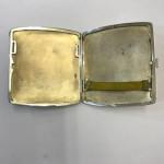 A BEAUTIFUL SILVER & ENAMEL CASE Circa 1920