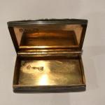 A GEO IV SILVER SNUFF BOX 1826 by Ledsam Vale & Wheeler