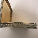A CONTINENTAL SILVER  & ENAMEL BOX Circa 1934