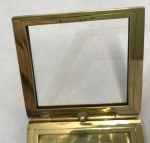 A GOLD 14ct TIFFANY FOLDING PICTURE FRAME Circa 1930