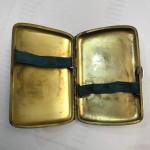 A CONTINENTAL SILVER & ENAMEL CASE Circa 1910 (Leda & The Swan)