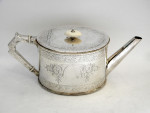 VICTORIAN SILVER 4 PIECE TEA  & COFFEE SET BIRM. 1873