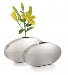 Stainless Steel Oval 30cm Vase