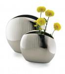 Aluminium Reflect Vase 19cm