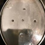 GEO III SILVER OVAL TEAPOT 1803