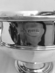 SOLID SILVER TWO HANDLED CUP/ TROPHY 1914