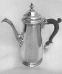 GEO II SOLID SILVER COFFEE POT 1748