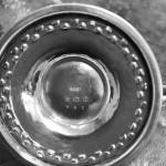 UNUSUAL SOLID SILVER LIBERTY CONDIMENT SET 1939