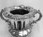A LARGE SHEFFIELD PLATED WINE COOLER Circa 1830