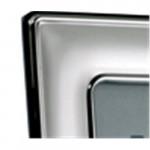 Sterling Silver Photo Frame Plain 5 x 3.5 (Velvet Back)