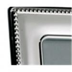 Silver Photo Frame Bead Edge 10 x 8 (Wood Back)