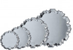 Solid Silver Salver / Tray Chippendale (Unmounted) 6 inches