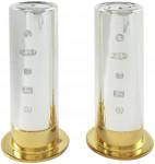Solid Silver Shotgun Cartridge Salt & Pepper Shakers
