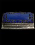 FRENCH SILVER & ENAMEL BOX - CIRCA 1920
