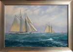"""A Fresh Wind - The Fife Schooners """"Cicely"""" and """"Susanne"""" racing"""