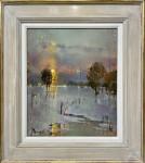 Winter sunset - Wells allotments