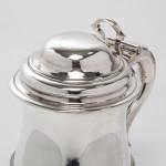 George II style silver tankard