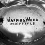 Set of three Edwardian silver bowls