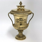 Georgian silver-gilt racing trophy