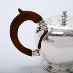 Bullet style bachelor teapot