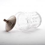 Stuart crystal & silver preserve jar