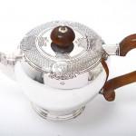 Silver bachelor teapot