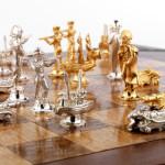 Battle of Trafalgar chess set