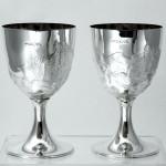 Bespoke silver Champagne cooler