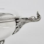 Art Deco silver trophy