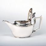 Rare Scottish & Tobago silver teapot