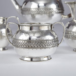 4-piece silver tea & coffee set by Liberty