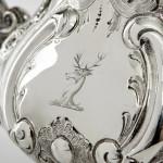 4-piece Louis silver tea & coffee set