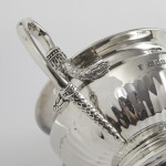 4-piece silver tea & coffee set in the style of Paul Storr