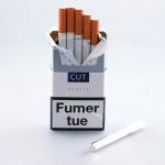 Silver cigarette
