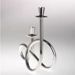 T8 silver candelabra