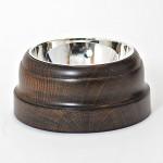 Silver & cut crystal hoggett with HMS Victory oak